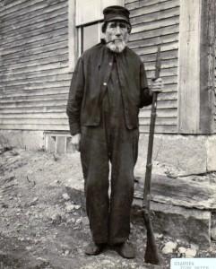 John Smith, the original recipient of Grafton NH's Boston Post Cane.