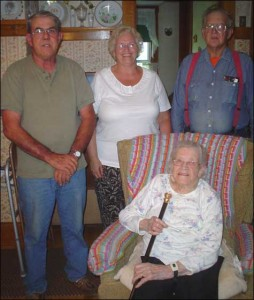 Ivy Gould awarded Friendship Cane